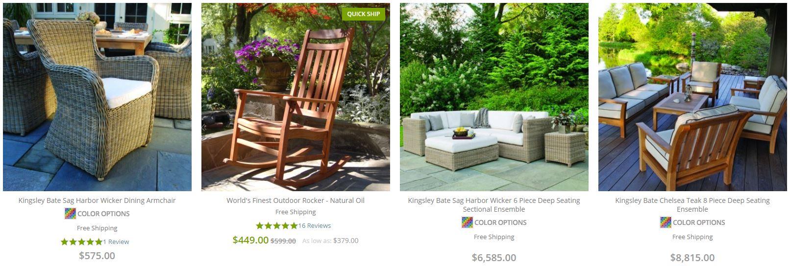 Frontera Outdoor Furniture Sale