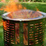 burn barrel stainless steel