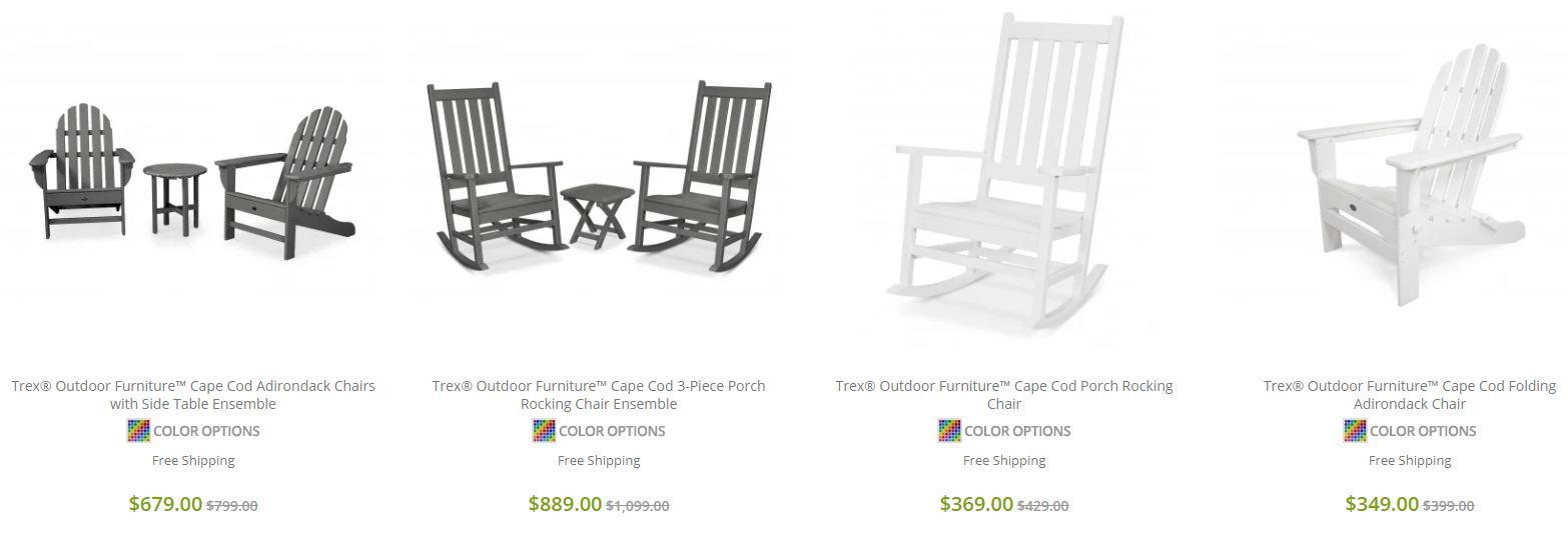 Trex Rocking Chairs