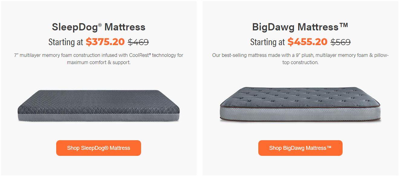 sleepdog mattress reviews
