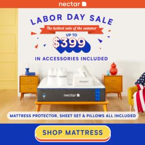 Nectar Mattress Labor Day Sale