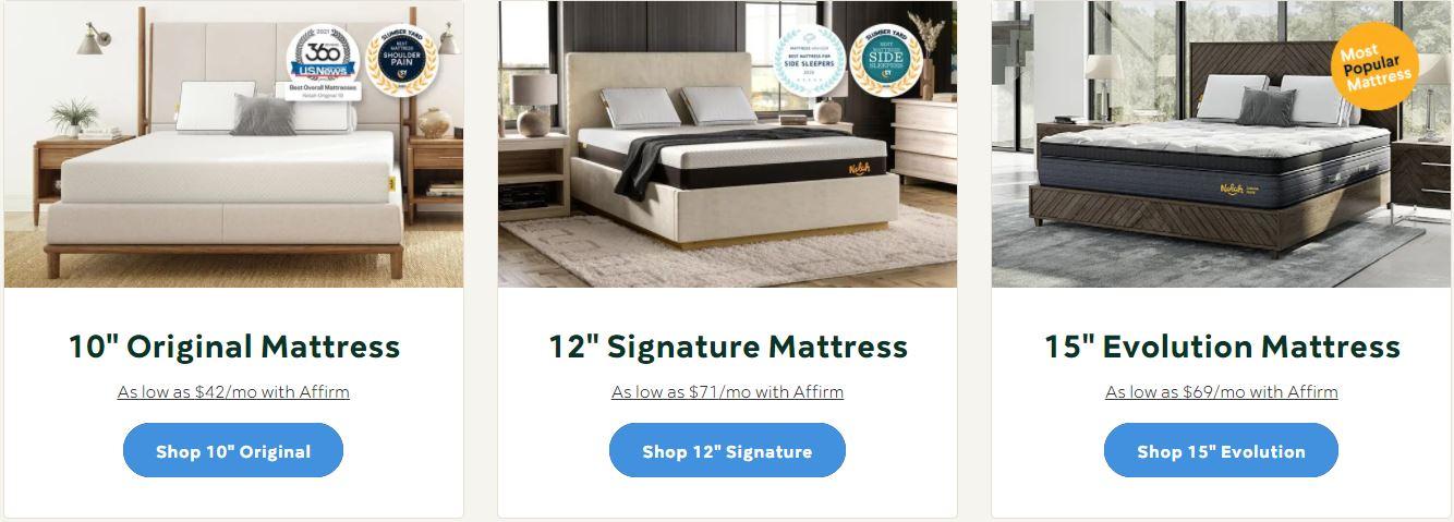 nolah mattress discount